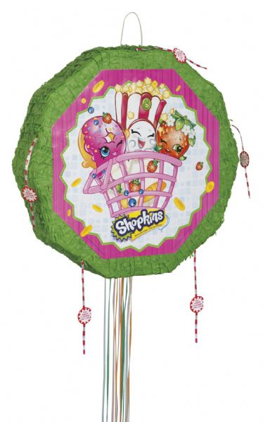 Shopkins Drum Pull Pop Out Pinata
